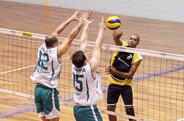Competições das equipes  do Campeonato Master movimentaram as quadras da CBV . (Foto: Alexandre Arruda/CBV)