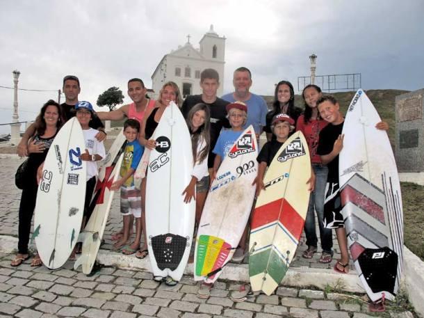 Os pequenos guerreiros de Saquarema vão conhecer as famosas ondas do Peru, no Oceano Pacífico