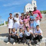 Membros da quadrilha que participaram da Feira de Cultura em Saquarema. (Foto: Agnelo Quintela)