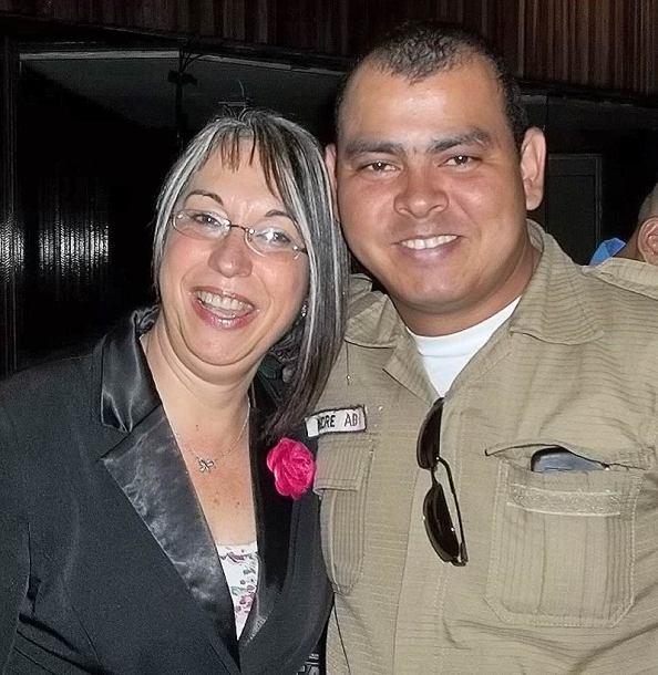 Secretária nacional de segurança pública Regina Miki e GM André