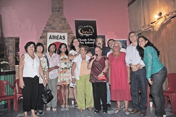 O lançamento do livro sobre a família Prestes  foi um momento histórico em Saquarema (Foto: Agnelo Quintela)