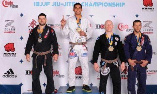 Atletas saquaremenses sobressaem no Pan de Jiu-Jitsu Jaime Canuto sagrou-se campeão
