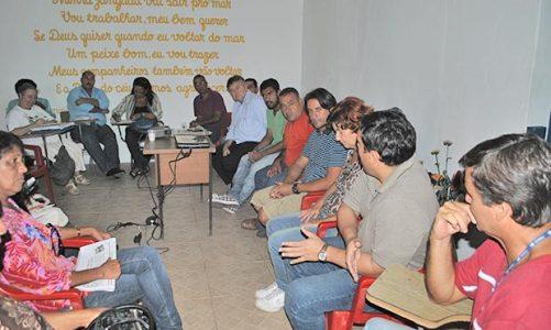 Colônia de Pescadores debate o período de defeso na Lagoa de Saquarema
