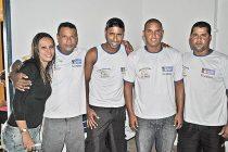 Guardas ambientais que colaboram com o IBAMA e com a Polícia Militar (do antigo Batalhão Florestal) na fiscalização da pesca