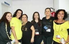 Equipe Daumas: Tininha, Heloísa,  Rita, Claudia, Nilma e Simone
