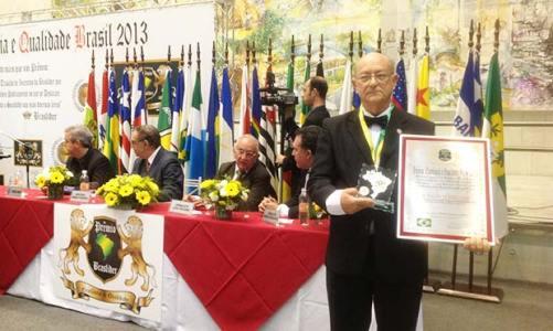 Dr. Himelfarb recebe Prêmio Excelência e Qualidade 2013