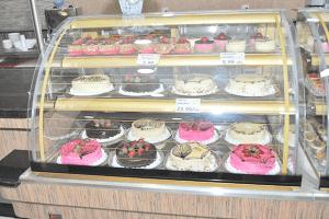 Tortas e tortinhas bem ao gosto do público (Foto: Agnelo Quintela)
