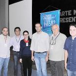 A equipe da Serenco com o professor Nicolau, segundo da direita para a esquerda (Fotos: Guilherme Stocchero)