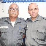 Subtenente Nigro e Capitão Alcântara (Foto: Michele Maria)