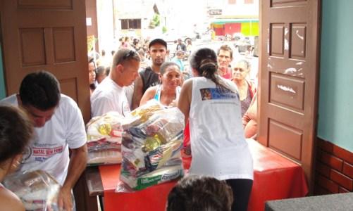 3° ano consecutivo do Natal de Luz, Natal sem Fome