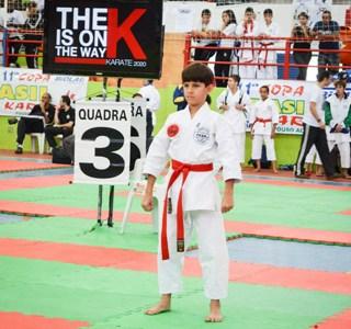 Saquaremense encerra o ano entre os melhores do karate no estado