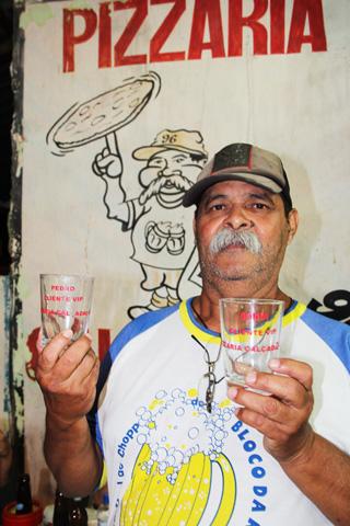 O popular Luís Bigode (Foto: Edmilson Soares)