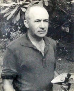 O premiado artista plástico Antenor de Oliveira.