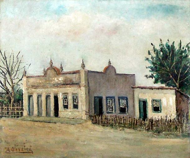 Casa de Antenor de Oliveira.