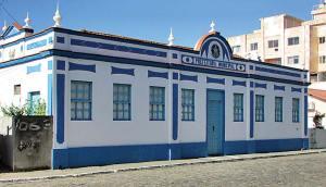 Na antiga sede, a Câmara ficava  numa sala ao lado da Prefeitura.