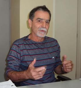 O secretário de Meio Ambiente  de Saquarema, Gilmar Magalhães. (Foto: Edimilson Soares)