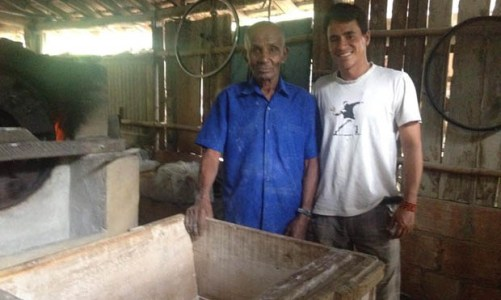 A casa de farinha de Seu Arlindo um pedaço da história de Saquarema