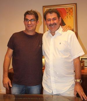 Pitico é o pré-candidato do deputado Paulo Melo (Foto: Edimilson Soares)