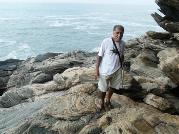 O ambientalista Luiz Lopes, vice-presidente da AMA-Jaconé (Divulgação)