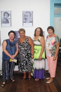 Dulce, Sandra, Neusa e Beatriz Dutra,  faces da cultura saquaremense