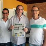 Eduardo Cunha em Saquarema. Fotos: Edimilson Soares