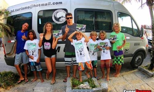 A nova geração do surfe