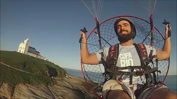 O voo panorâmico do piloto Sandro Louzada, campeão brasileiro 2015