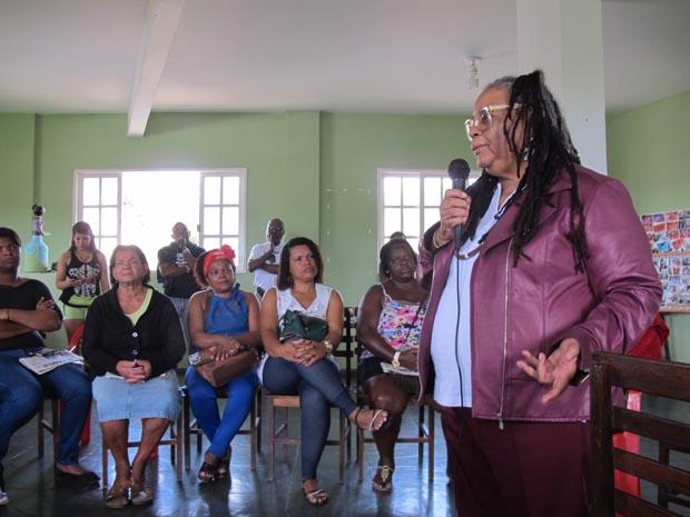 O Gethomn promoveu palestra com a professora Neusa das Dores Pereira, da Ong Coisa de Mulher, que participa das comemorações do Dia da Mulher Negra desde 1992 (Foto: Dulce Tupy)