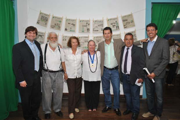 Vereadores fizeram questão de prestigiar o aniversário do jornal O Saquá que acompanha o dia a dia das sessões na Câmara Municipal de Saquarema