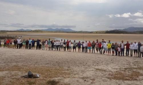 O abraço à Lagoa de Jacarepiá