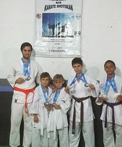 Medalhistas do Karate