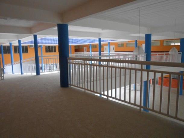 O novo Centro Municipal de Educação Padre Manuel será inaugurado no Porto da Roça (Michele Maria)