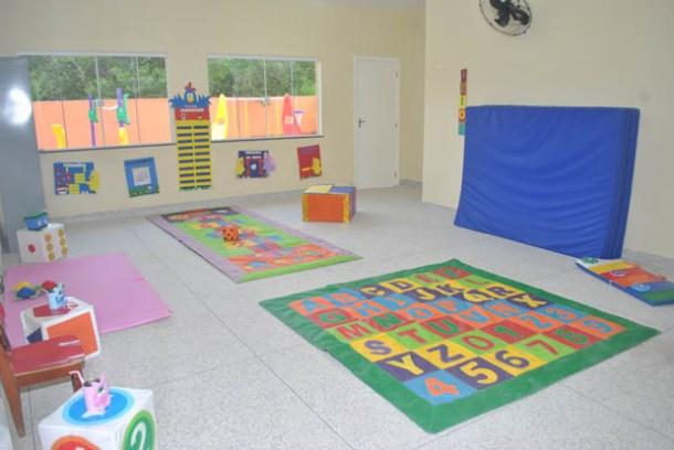 Duas salas da escola de Vilatur são para creche, assim como também duas salas na escola do Jardim, favorecendo a oferta de vagas nos bairros