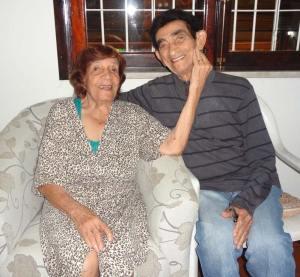 Margarida Catarino e Manoel Gomes, 65 anos de casamento com alegria, amor e simplicidade. (Fotos: Edimilson Soares)