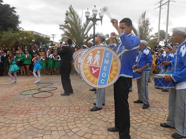 A Banda da Escola Municipal Elcira de Oliveira Coutinho
