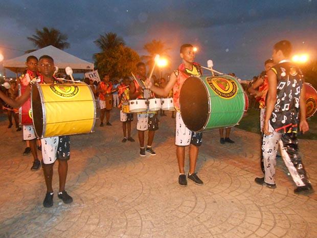 A banda da EMEVIM, Escola Municipal Edilson Vignoli Marins