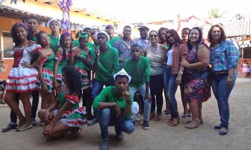 """""""Mais cultura nas escolas"""" no bairro  São Geraldo"""