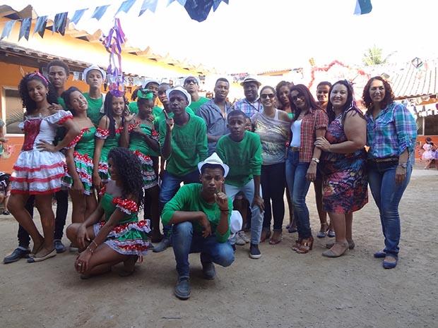 A quadrilha Asa Branca é parceira do Projeto Mais Cultura da Secretaria de Educação (Fotos: Edimilson Soares)