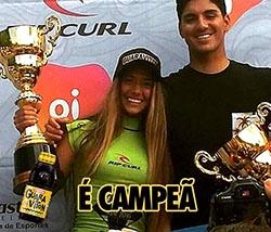Carol Bonelli conquista o Circuito ASM Medina