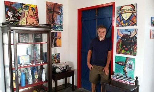 Fernando Pacheco, um artista internacional em Saquarema