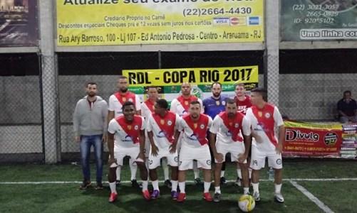 A Copa Rio Fut 5  de futebol society