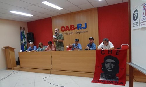 Sessão de cinema na OAB  debateu os 50 anos da  morte do Che na Bolívia