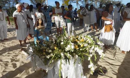 3º Presente a  Yemanjá em Jaconé