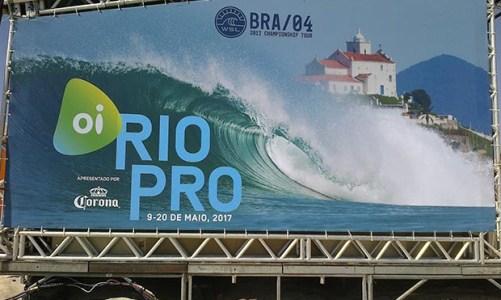 Começa o agito  do Oi Rio Pro