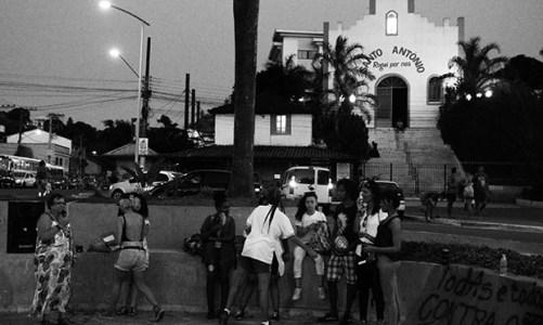 Mulheres, negros e LGBT´s protestam em Bacaxá