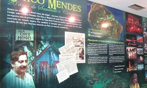 Chico Mendes, um homem,  um guerreiro, uma lenda