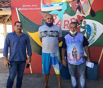 Reunião dos pescadores com a Polícia Florestal
