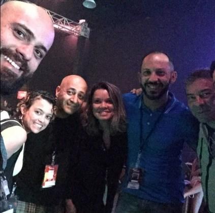 Gabriel Rajão, Eva Coutinho, Ricardo Keuchgerian, Tatiara de França, Roberto Lima e Claudio Silveira