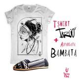 Camiseta com estampa do artista TarcioV