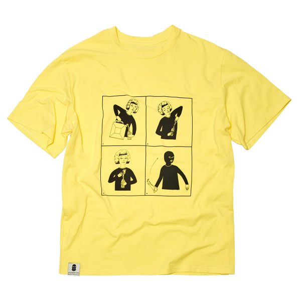 camiseta amarela 1 - Media Zona - Pussy Riot - ModaNews